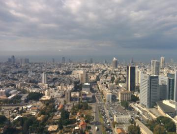 נוף תל אביב מותאם בלוג